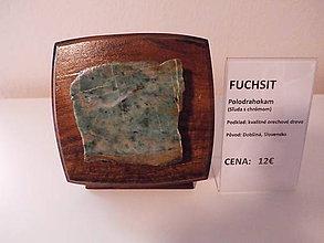 Dekorácie - Polodrahokam Fuchsit - 9279607_
