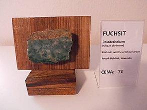 Dekorácie - Polodrahokam Fuchsit - 9279636_
