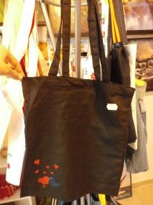 Nákupné tašky - Plátená nákupná taška s handmade aplikáciou - 9280511_