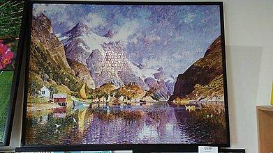 Obrázky - Puzzle obraz Nórsky fjord - 9280571_