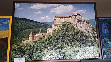 Obrázky - Puzzle obraz Oravský hrad - 9280658_