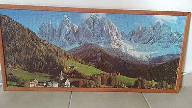 Obrázky - Puzzle obraz Panoráma Alpy - 9280698_