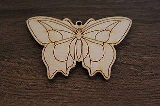 Polotovary - motýlik - 9280582_