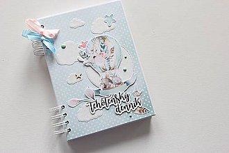 Papiernictvo - Zdobený tehotenský denníček - 9280997_