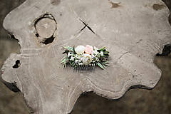 Ozdoby do vlasov - Svadobný hrebienok