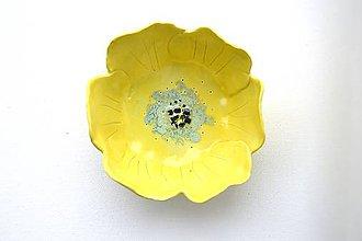 Nádoby - Keramická miska Žltučká som - 9279021_