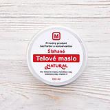 Drogéria - Šľahané telové maslo: NATURAL 100 ml - 9278776_