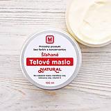 Drogéria - Šľahané telové maslo: NATURAL 100 ml - 9278777_