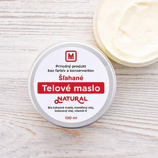 Šľahané telové maslo: NATURAL 100 ml