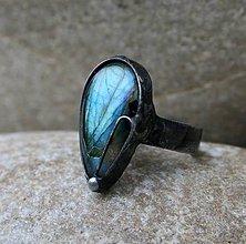 Prstene - Labradorit prsteň - 9279435_