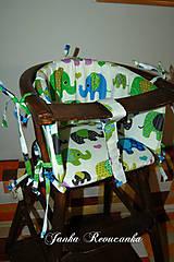 Textil - do stoličky - 9278846_