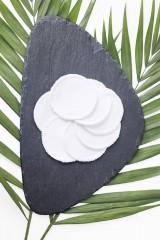 Úžitkový textil - Zero waste bavlnené odličovacie tampóny - 9281899_