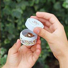 Prstene - Maľovaná šperkovnička  (Oranžová) - 9284843_