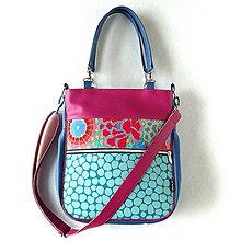 Veľké tašky - Taste it! - Zipp - Modro-cyklámenová - 9283533_