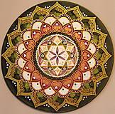 Dekorácie - Mandala zdravia a uzdravenia - 9283271_