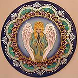 Dekorácie - Ochranná Anjelská mandala - 9283283_