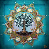 Obrazy - Mandala Stromu života - 9283328_