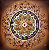 Obrazy - Mandala nekonečnej lásky, partnerská mandala - 9283387_