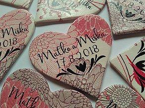 Darčeky pre svadobčanov - magnetky pre svadobčanov - 9285873_