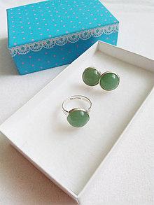 Sady šperkov - Green Aventurine - 9282838_