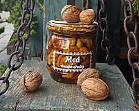 Potraviny - Med a vlašské ořechy - 9284489_