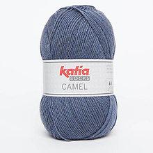 Galantéria - Priadza KATIA Camel Socks (75 džínsová) - 9284740_