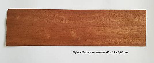Suroviny - Dyha - Mahagón - 9283559_