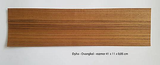 Suroviny - Dyha - Ovangkol - 9283560_