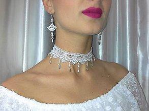 Sady šperkov - Krajková súprava V - 9285200_