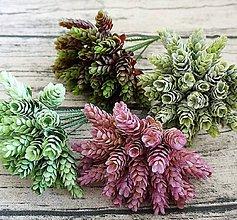 Ozdoby do vlasov - Rastlina - 1 stonka (5 šištičiek) - 9287785_