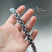 Náhrdelníky - Je mým vězněm - náhrdelník (čierný) - 9287202_