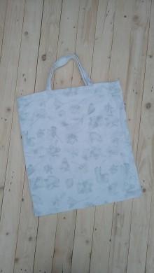 06c098b7a6 Nákupné tašky - Eko látková nákupná taška kvety - 9288599