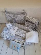 Textil - Hniezdo pre bábätko - medvedík v sivom - 9286662_