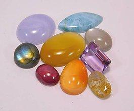 Minerály - čakrová sada kameňov II. - 9287475_