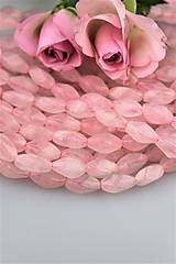 ruženín korálky vruty 8x16mm