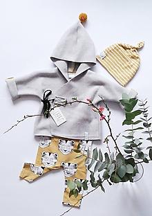 Detské oblečenie - Kojenecký kabátik JURO - 9286179_