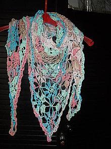 Šatky - bavlnená šatôčka - 9287635_