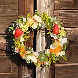 Dekorácie - Venček do kuchyne s ovocím - 9289263_