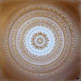 Obrazy - Mandala LÁSKA A NEHA 60 x 60 - 9288638_