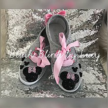 Obuv - Tenisky pre little Princess - 9288494_