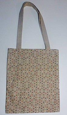 Nákupné tašky - Bodkovaná taška - 9288909_