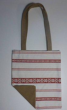 Nákupné tašky - Folklórna taška - 9288934_