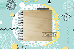 Papiernictvo - Drevený zápisník WOODBOOK - 9286812_