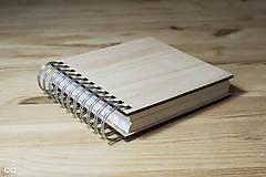 Papiernictvo - Drevený zápisník WOODBOOK - 9286816_