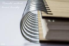 Papiernictvo - Drevený zápisník WOODBOOK - 9286818_