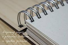 Papiernictvo - Drevený zápisník WOODBOOK - 9286821_