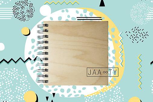Drevený zápisník WOODBOOK