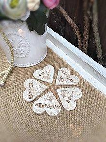 Darčeky pre svadobčanov - Svadobná magnetka - 9288135_