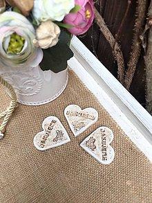 Darčeky pre svadobčanov - Svadobná magnetka - 9288169_
