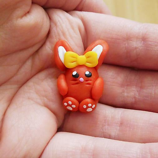 FIMO veľkonočný zajačik (mašlička)